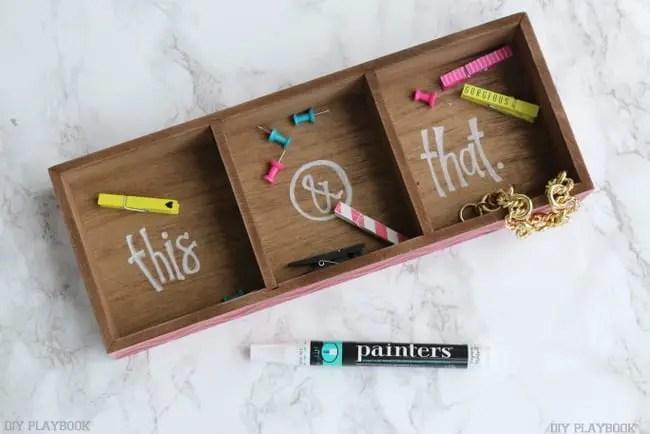 elmer's office paint pen craft