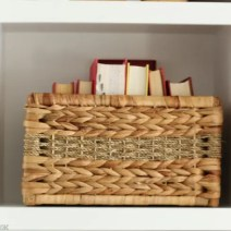 Maggie Built in Shelves basket