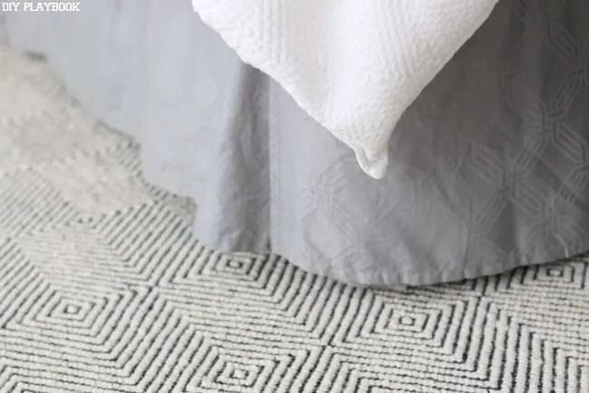 Textures Patterns Bedroom Rug