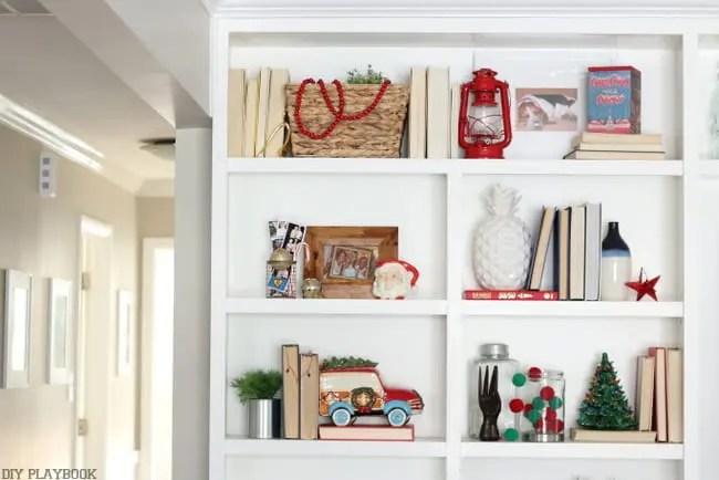 Christmas Shelves