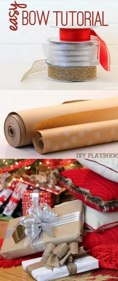 how to wrap the perfect gift with a bow