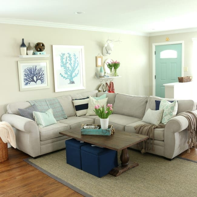 Family Room Home Tour