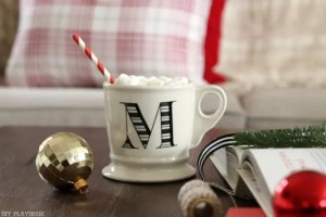 Christmas anthropology mug