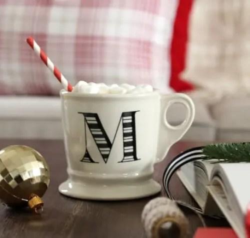 Christmas anthropology mug