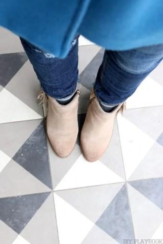 Shoes Jeans Coat Tile Instagram