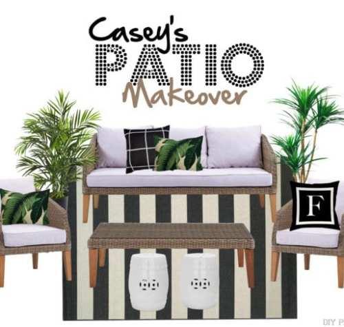 Casey's Palm Patio Makeover Wayfair