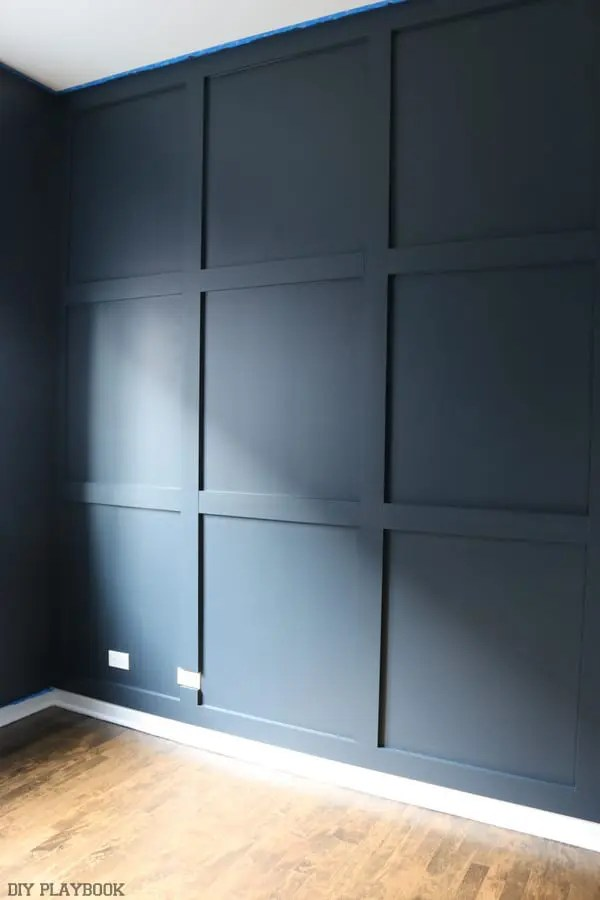 diy_wood_wall_painted_navy_progress_office