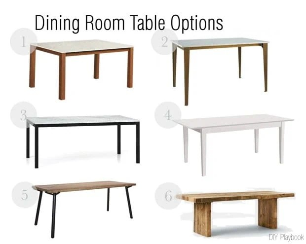 The Gameplan: Dining Room Table