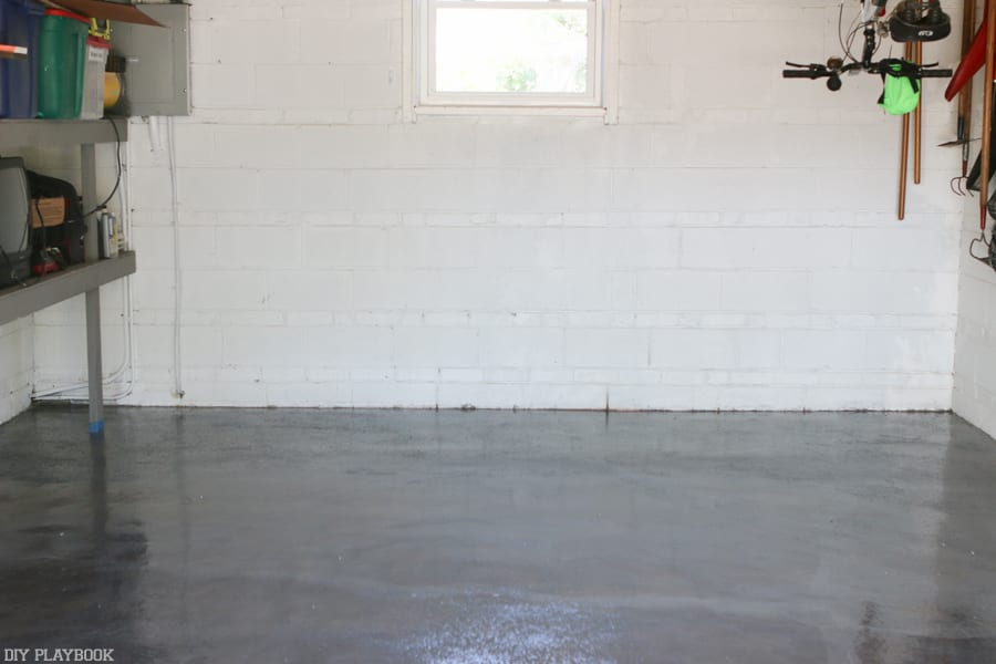 9 Things I Learned from DIY-ing my Garage Floor with Epoxy