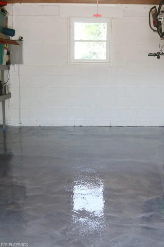 DIY RockSolid Garage Floor Tutorial & $500 Giveaway