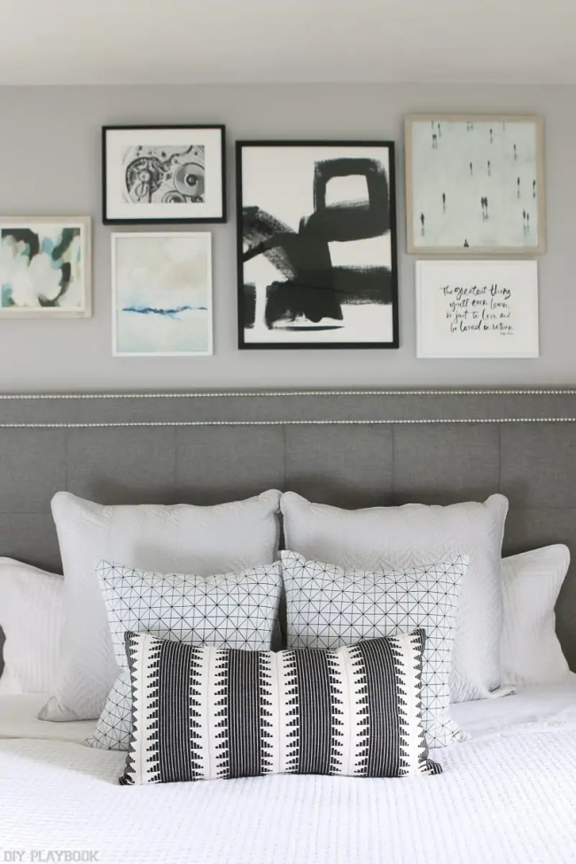 lowes-makeover-bedroom-reveal-gallery-wall-pillows-vertical