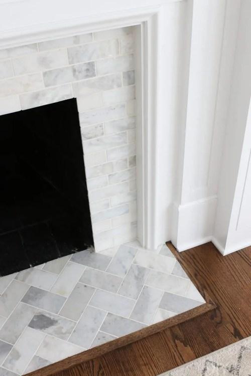 Medium Of Carrara Marble Tile