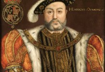 Portrait of King Henry III by Follower of Hans Holbein the Younger (philipmould.com) [Public domain], via Wikimedia