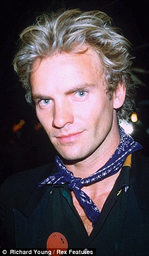 Sting as young man