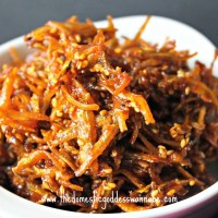 myulchi bokkeum - korean stir-fried anchovies