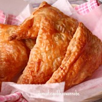 easy chicken pot pie turnovers