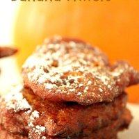 Spiced Pumpkin-Banana Fritters