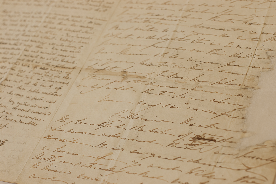 Catherine's hand-writing