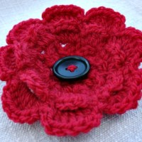 Crochet Poppy | Ready to Remember