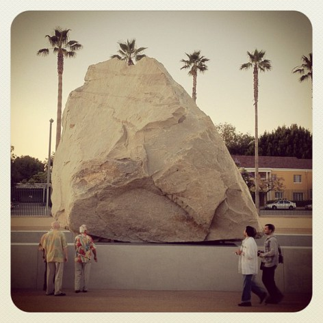 levitated mass,
