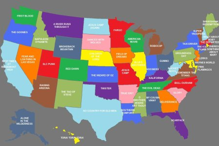 u.s. stereotype maps movies, tv, shame, and awesomeness
