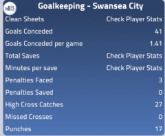 Goalkeeping 13/14