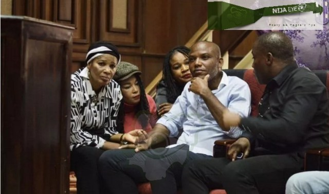 Nnamdi Kanu in court