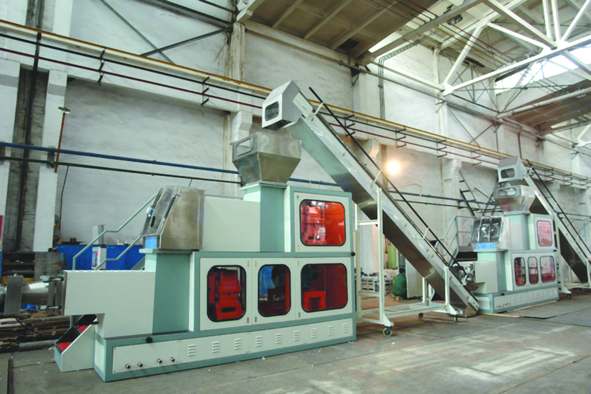 Toilet soap making line large size(1000kg-3000kg per hour)