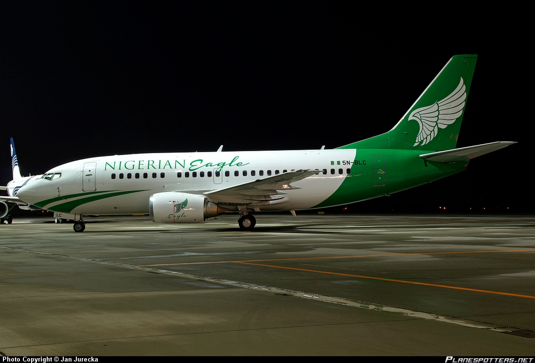 5N-BLC-Nigerian-Eagle-Airlines-Boeing-737-500_PlanespottersNet_421356