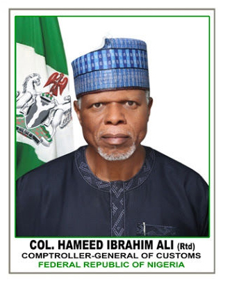 Customs Comptroller-General, Hameed Ali