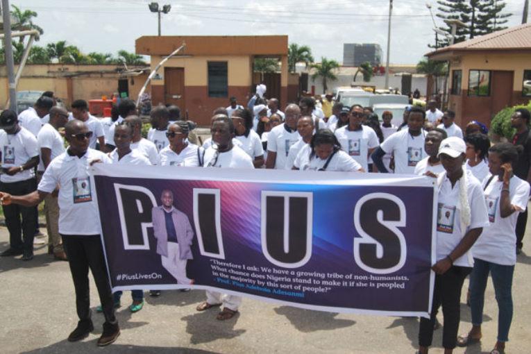 Candle Light for Late Prof. Pius Adesanmi
