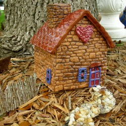 Fascinating Outdoorfairy Style Is Barrel Shaped Oh So New Outdoor Fairy Garden Houses Edgewater Shop I Have Two New Styles Fairy Garden All Are