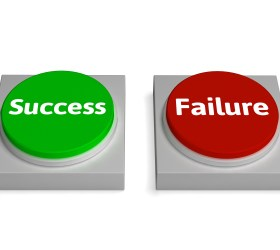 Success Failure Buttons Show Successing Or Failing