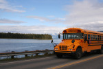 School Bus in Alaska