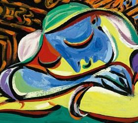 "Picasso's 1935 ""Jeune Fille Endormie."" Photo: Creative Commons."