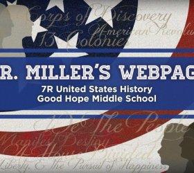 Author Jake Miller's website, courtesy Jake Miller.