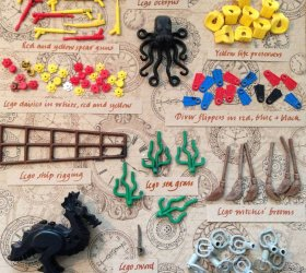Image by Tracey Williams/Lego Lost At Sea, via NPR
