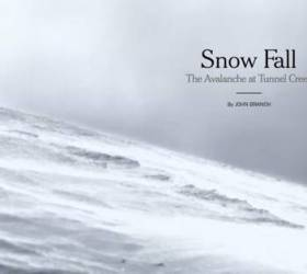 """Snow Fall"" by John Branch"