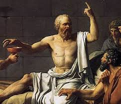 """Socrates - from """"The Death of Socrates"""" by Jacques-Louis David"""