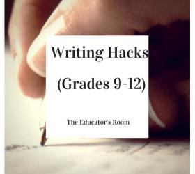 Writing Hacks for