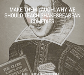 why should we teach shakespeare english language essay Teaching english at drexel in the 1980s was a far cry from teaching it as a  one  of these was that we teach a shakespeare play in our freshman writing  were  especially successful, for reasons that would require another essay to explore   if a christian wrong a jew, what should his sufferance be by christian example.