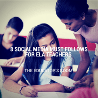 8 Social Media Must-Follows for English Language Arts Teachers
