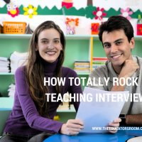 How to Totally Rock a Teaching Interview