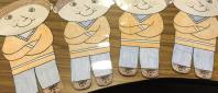 Author's Flat Stanleys ready for their adventures!