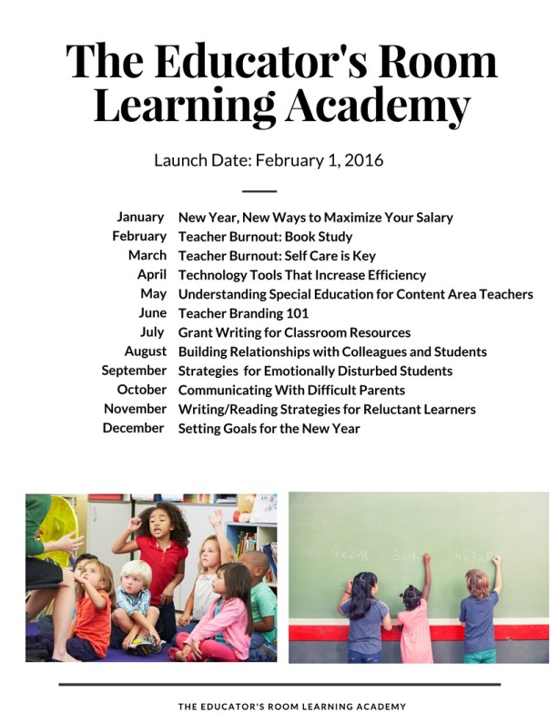 The Educator'S Room Learning Academy