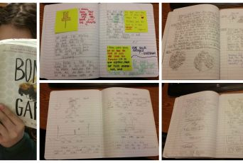 a glimpse of our Reader Notebooks