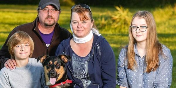 Wisconsin woman has grand mal seizure; family dog sounds alarm