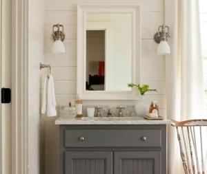 grey bath vanity