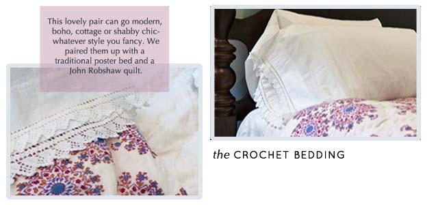 Crochet sheets