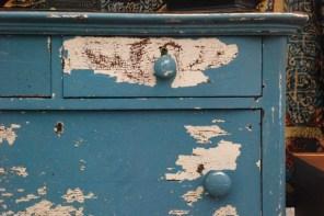 flea blue dresser